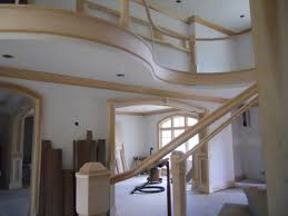 Radius Stairs by Btc Construction Radius Moulding Maufacturing