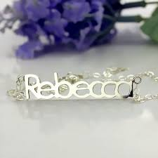 make your own name necklace make your own name necklace sterling silver