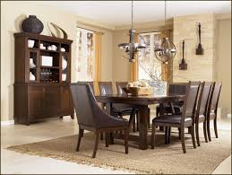 ashley dining table with bench dining room an elegant ashley contemporary dining room set for