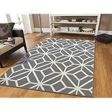 Orange And Black Rugs Amazon Com Black Moroccan Trellis 2 U00270x3 U00270 Area Rug Carpet Black