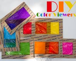 where can i buy colored cellophane how to diy color viewers crafting a green world