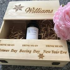 wine wedding gift online shop personalized company logo christmas gift wooden wine