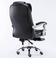 luxury chair reclining swivel luxury office chair with footrest