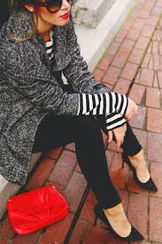 24 best fresh ways to wear stripes images on pinterest black