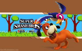 super smash bros wii u wallpapers duck hunt wallpaper super smash bros wii u 3ds by alexthf on