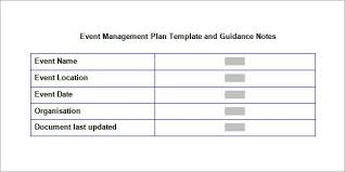 event planning document template event planning document template