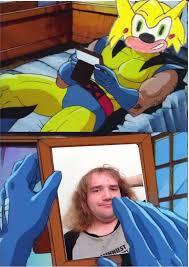 Wolverine Picture Meme - sonichus crush wolverine crush know your meme