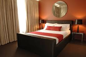 bedroom nice bedroom decorating ideas brown and red terra cotta