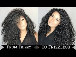 how to tame gray hair tame frizzy curly hair summer routine youtube