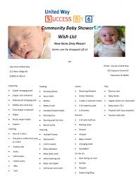 list of baby shower photo baby shower list of things image