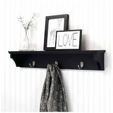 display coat wall mounted coat rack with shelf rack shelf wall
