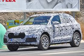 Audi Q5 New Design - next generation audi q5 spied with sharper lines familiar shape