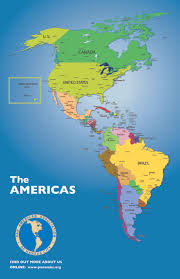 Map Of Latin America by Map Of Pan America United States Map Nations Online Project Free