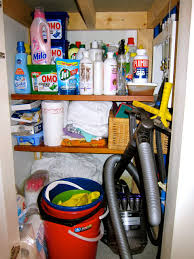 closet cleaning organizing cleaning supply closet in 5 minutes creative pink