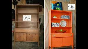 Repurposed Furniture Before And After by Before And After Furniture Makeover Ideas Youtube