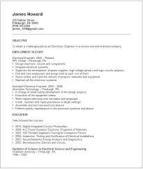 free download resume format for electrical engineers standard resume format standard resume format standard resume