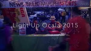 Light Up Ocala Light Up Ocala 2015 Youtube