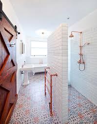Valentine S Day Bath Decor by Day Bathroom Decor Bathroom Contemporary With Copper Shower Metro