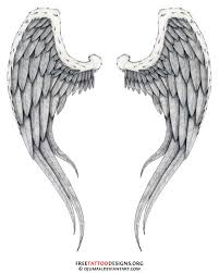 cross angel wings tattoo for men in 2017 real photo pictures
