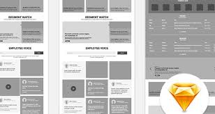 web design templates 50 free wireframe templates for mobile web and ux design