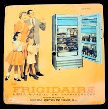 Favorito DI 97 – Disco ou LP antigo promocional da geladeira Frigidaire  #VU92