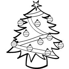 Hello Kitty And Her Simple Christmas Tree Coloring Pages Hello Tree Coloring Page