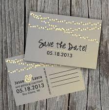 diy save the dates diy printable save the date postcard string of lights 2068129