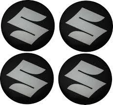 logo suzuki emblematy samochodowe na kołpaki logo suzuki 56 mm hurtownia
