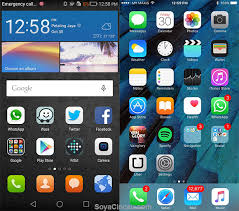 huawei designs app huawei s emui skin might emulate apple s ios a lot more now