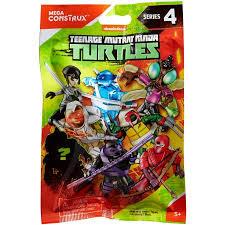 Lego Blind Packs Mega Construx Teenage Mutant Ninja Turtles Micro Action Figures