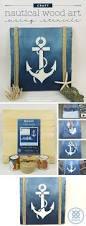 Wooden Anchor Wall Decor 25 Best Anchor Stencil Ideas On Pinterest Nautical Theme