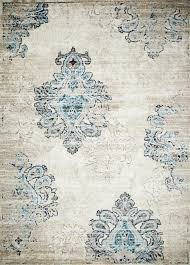Damask Area Rugs Ivory Distressed Damask Area Rugs 5x8 8x11 Bargain Area Rugs