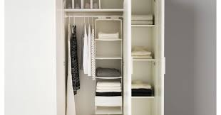 Custom Closet Design Ikea Wardrobe Pax Wardrobe Turned Custom Reach In Closets Beautiful