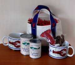 maine gift baskets maine lobster tote baskets by