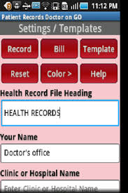 mobile emr app for doctors nurses and other medical professionals
