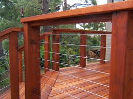 Wire Banister Ultra Tec Deck Cable Railing Modern Deck Other By Ultra