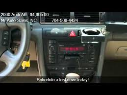 2000 Audi A6 Interior 2000 Audi A6 4 2 Quattro Awd 4dr Sedan For Sale In Charlotte Youtube
