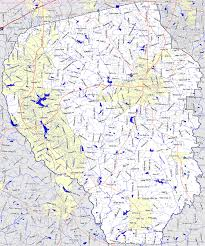 Georgia Counties Map Bridgehunter Com Fayette County Georgia