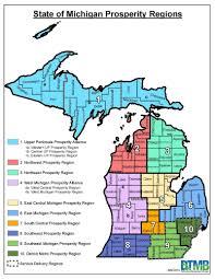 Grand Rapids Michigan Map by Deq Prosperity Regions
