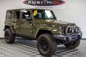 lifted jeep truck custom jeeps for sale at rubitrux jeep wrangler conversions
