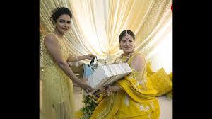urvashi sharma u0027s second baby shower with husband sachiin joshi