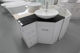 Small Bathroom Corner Vanities by Home Decor Corner Vanity Units With Basin Mirror Cabinets With