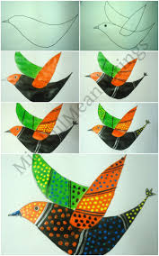 exploring india folk and tribal art gond painting step by step