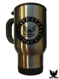 Travel Mug States Navy 14 Oz Travel Mug