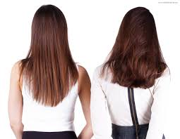 back of hairstyle cut with layers and ushape cut in back v shaped haircut back view cut the back of long hair in a u shape