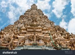Hindu Temple Floor Plan by Matale Sri Lanka Apr 17 Facade Stock Photo 150911891 Shutterstock