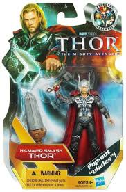 amazon com thor the mighty avenger action figure 07 hammer