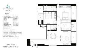 Floor Plan Bed by New Cuffe Parade Floor Plans U0026 Unit Plans Of 1 2 U0026 3 Bed Homes