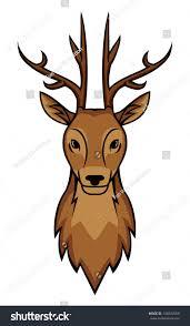 deer head stock vector 144526559 shutterstock