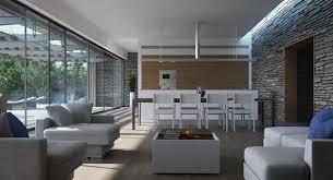Modern Kitchen Living Room Ideas - open plan modern kitchen dining living interior design ideas